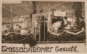 1951 wurde ein Prozess gegen Schmuggler Thema im Jünkerather Rosenmontagszug.