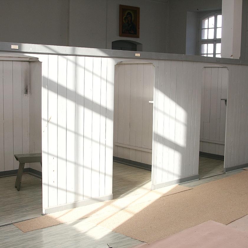 Der Schlafsaal der Mönche