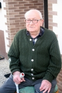 Brungens Franz (Molitor) ist Büdesheims Ortsältester mit 96 Jahren.