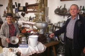 """Gerhard und Katharina Grün haben ein kleines """"Büdesheim Museum""""."""