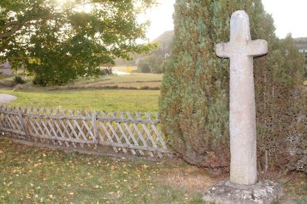 Das älteste Wegkreuz im Altkreis Prüm steht am Ortsrand.