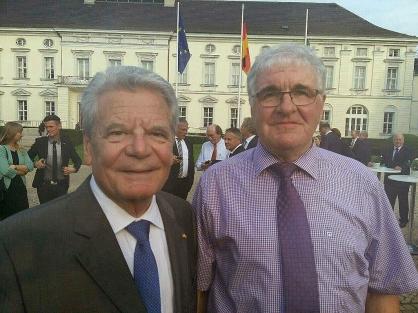 """""""Der größte Tag in meinem Bürgermeisterleben!"""" Vor zwei Jahren traf Richard Meyer den damaligen Bundespräsidenten Joachim Gauck."""