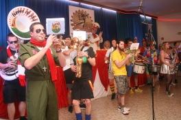 "Dörferkarneval: ""Bunnes op Jöck"" ist eine Big-Band aus dem kleinen Berndorf in der Vulkaneifel."