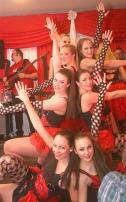 Dörferkarneval: Wenn sie in ihrem Heimatdorf Ripsdorf auftreten ist das für die Showntanzgruppe der Show Fanfares immer der Höhepunkt der Session.