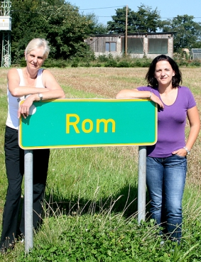 Römerinnen: Heidi Back (links) und ihre Tochter Silvia Back-Süßenberger.
