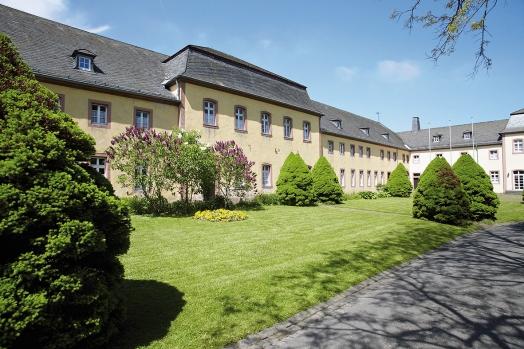 Seitentrakt aus dem 18. Jahrhundert der Klosteranlage, der heute Teil des Gästehauses ist.