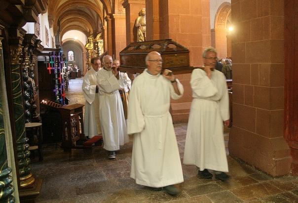 Erhebung der Gebeine des hl. Hermann Joseph.