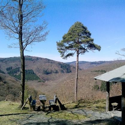 Bleiberghütte oberhalb des Nitzbachtales bei Mayen.