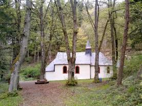 Kreuzkapelle oberhalb Neuerburg.