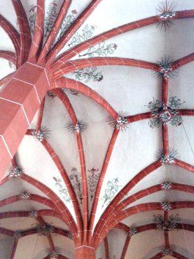 Kreuzgewölbe in St. Nikolaus Neuerburg.