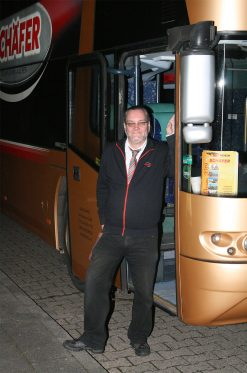 Busfahrer Jo Baier