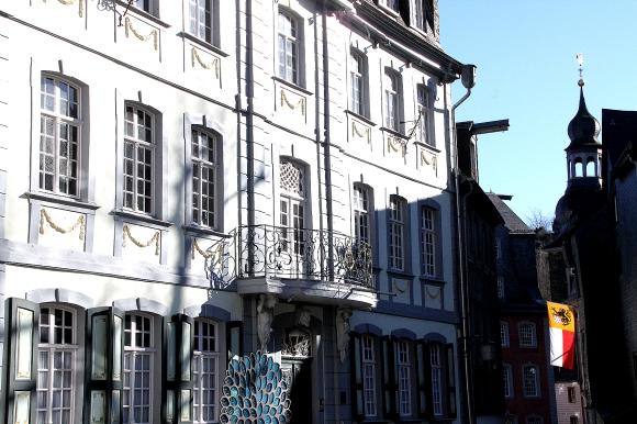 Haus Troistorff, heute ist hier das Trauzimmer des Standesamtes untergebracht.