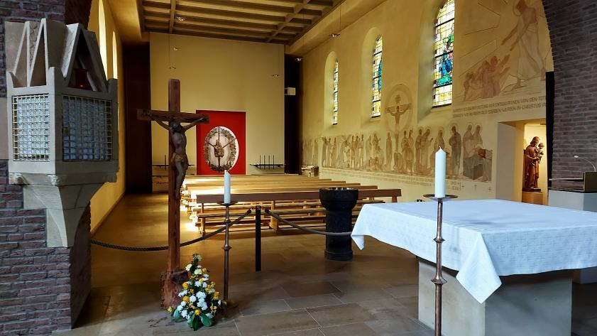 Im Innern der Wallfahrtskirche
