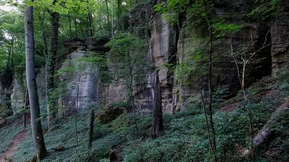 Die Veitcheslay oberhalb von Steinheim.