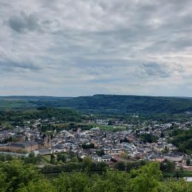 Blick auf Echternach.