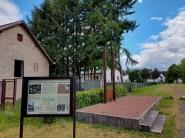 Gedenkstätte für die ehemalige Synagoge von Blumenthal.