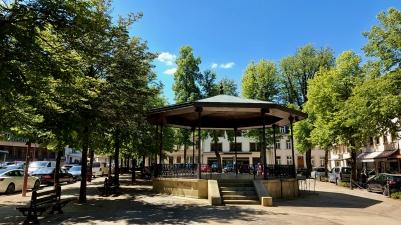 Musikpavillon in Larochette.
