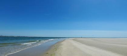 Seegatt zwischen Norderney und Juist.