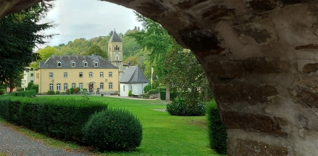 Vallendar: Blick auf die Gnadenkapelle mit dem Urheiligtum der Schönstatter Kongregation.