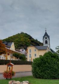 Die Wallfahrtskirche in Kamp-Bornhofen.