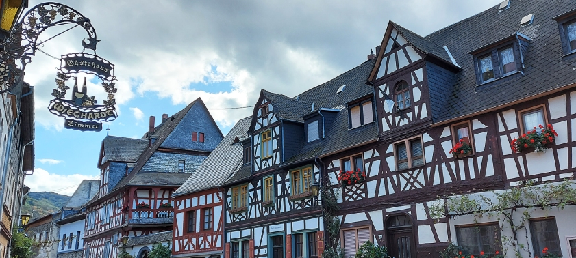 In der Altstadt von Braubach.