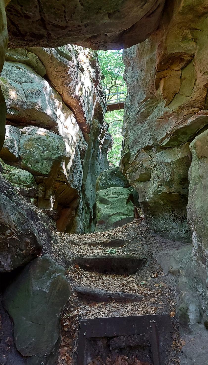 """""""Hexegang"""", Mullerthal Trail, Extra-Tour C, Kleine Luxemburger Schweiz"""