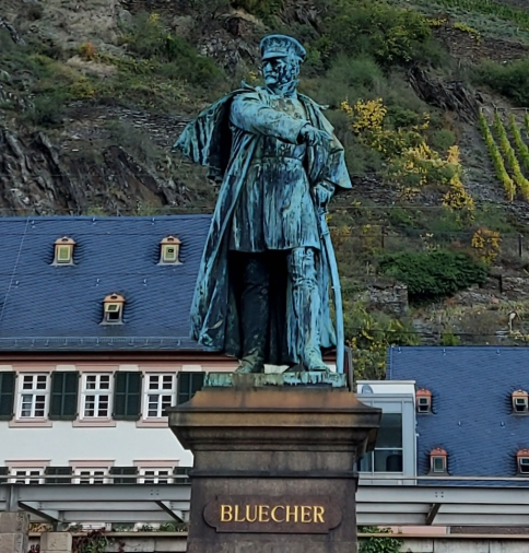 Bluecher-Denkmal in Kaub.