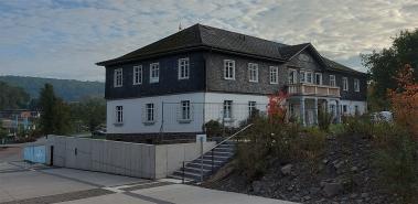 Das Turnerheim von 1928 auf dem Loreleyplateau.