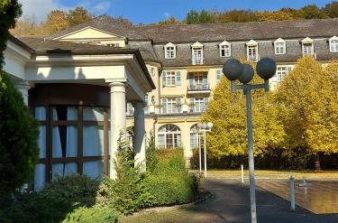 Das ehemalige Kurhotel.