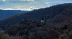 Burg Stahlberg vom Gegenhang