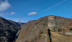 Auf der Burg Stahlberg.