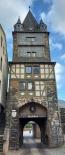 Marktturm zum Rheinufer.