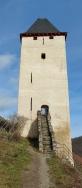 Der Postenturm.