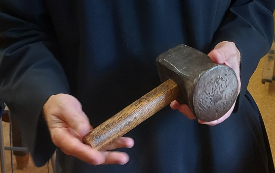 Der Glättehammer ist mehrere hundert Jahre alt.